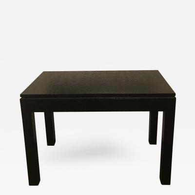 Harrison Van Horn Mid Century Modern Grass Cloth Writing Table Desk in the Manner of Springer