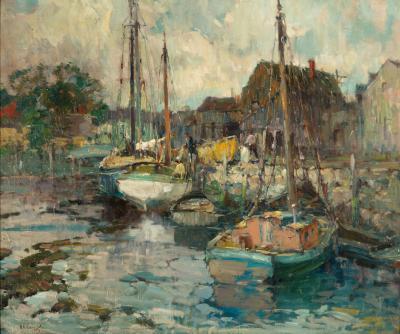 Harry Aiken Vincent Rockport Harbor