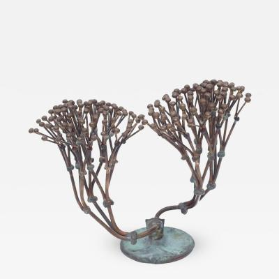 Harry Bertoia Bronze Harry Bertoia Bush Form Sculpture Usa 1970s