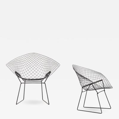 Harry Bertoia Diamond Easy Chairs Produced by Knoll