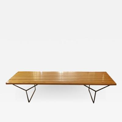 Harry Bertoia HARRY BERTOIA SLAT BENCH BY KNOLL