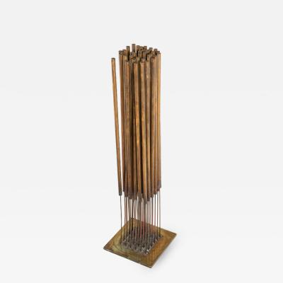 Harry Bertoia Harry Bertoia Beryllium Bronze Kinetic Cattail Sonambient Sculpture