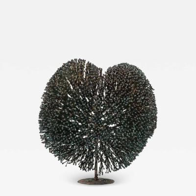 Harry Bertoia Harry Bertoia Bronze Bush Sculpture USA 1970s
