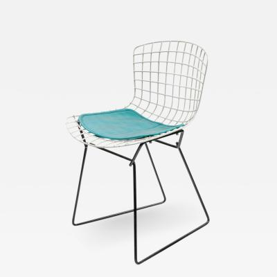 Harry Bertoia Harry Bertoia Childs Chair in White with Original Knoll Seat Pad