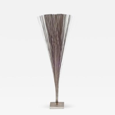 Harry Bertoia Harry Bertoia Early Stainless Steel Spray Sculpture USA 1960s