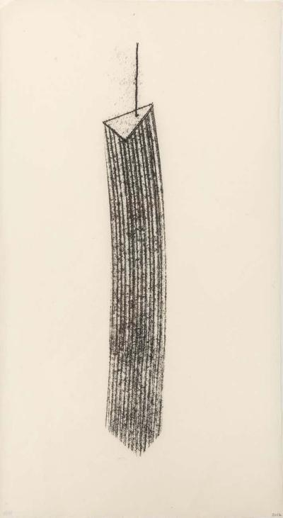 Harry Bertoia Harry Bertoia Framed Monotype on Rice Paper