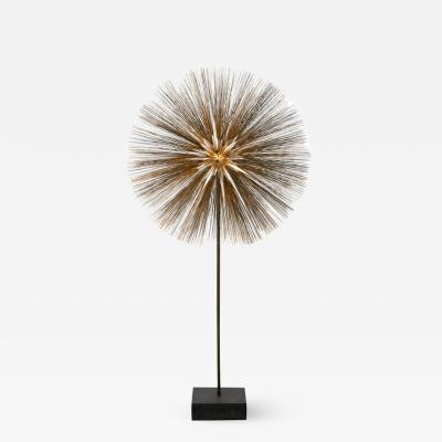 Harry Bertoia Harry Bertoia Gilt Bronze Brass and Steel Dandelion Sculpture