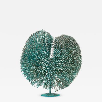 Harry Bertoia Harry Bertoia Patinated Bronze Bush Sculpture USA 1970s