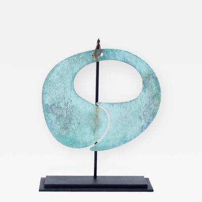 Harry Bertoia Harry Bertoia Patinated Bronze Gong