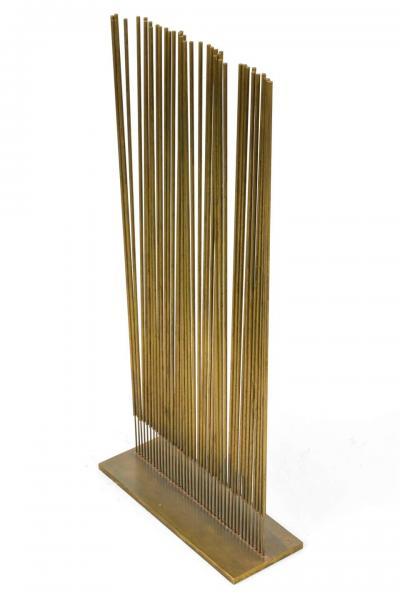 Harry Bertoia Harry Bertoia Untitled Single Row Cattail Sonambient Sculpture USA 1977