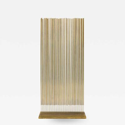 Harry Bertoia Harry Bertoia Untitled Single Row Cattail Sonambient Sculpture USA 1977