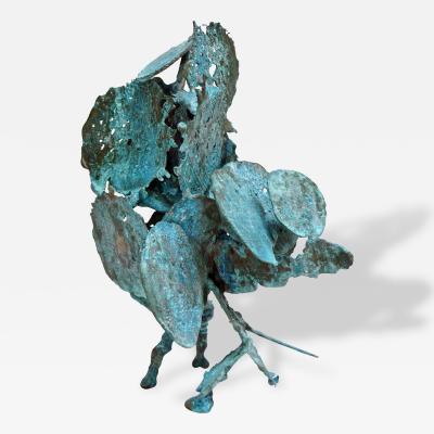 Harry Bertoia Harry Bertoia Welded Bronze Spill Cast Sculpture