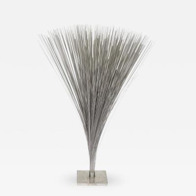 Harry Bertoia Large Harry Bertoia Stainless Steel Spray Sculpture USA 1965