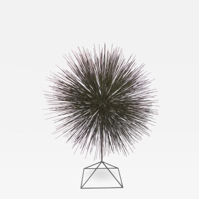Harry Bertoia Mid Century Steel Dandelion Sculpture in the Manner of Harry Bertoia