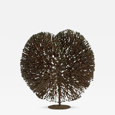 Harry Bertoia Monumental Harry Bertoia Patinated Bronze Bush Sculpture circa 1970
