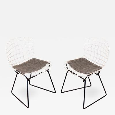 Harry Bertoia Pair of Baby Bertoia Chairs