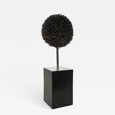 Harry Bertoia Signed George Jolley Metal Sculpture After Harry Bertoia
