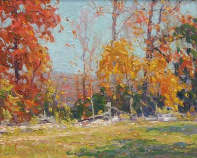 Harry Leith Ross Autumn Landscape