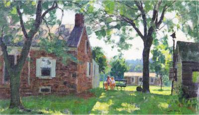 Harry Leith Ross Solebury Backyard