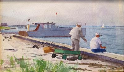 Harry Leith Ross Souvenir of Fire Island