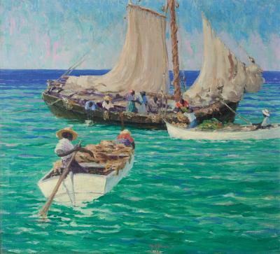 Harry Leslie Hoffman Bahamas Boats