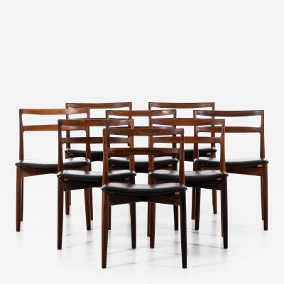 Harry Ostergaard Dining Chairs Model 61 Produced by Randers M belfabrik