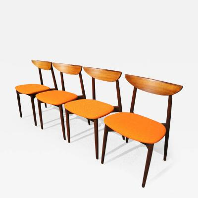 Harry Ostergaard Set of Four Rosewood Dining Chairs by Harry stergaard