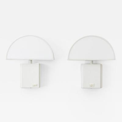 Harvey Guzzini Harvey Guzzini Olympe wall lamps pair ED Italy c1970