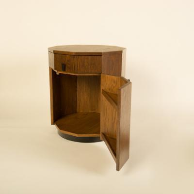 Harvey Probber A Mid Century Modern Decagon Cabinet by Harvey Prober circa 1950