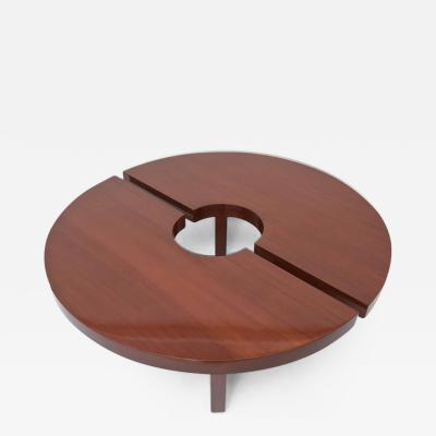 Harvey Probber American Modern Mahogany Two Part Low Table Harvey Probber