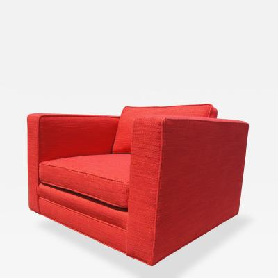 Harvey Probber Club Chair by Harvey Probber