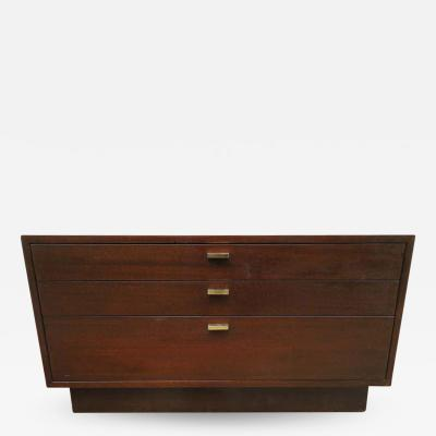 Harvey Probber Handsome Harvey Probber Small Chest Cabinet Nightstand Mid Century Modern