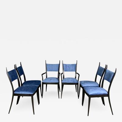 Harvey Probber Harvey Probber 1048 Gazelle Dining Chairs Set of Six Midcentury