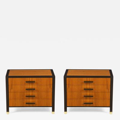 Harvey Probber Harvey Probber 4 Drawer Night Stands