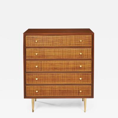 Harvey Probber Harvey Probber 5 Drawer Gentlemans Dresser c 1959