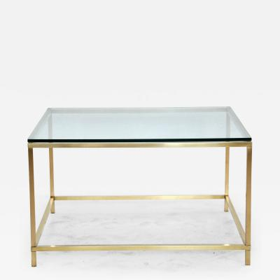 Harvey Probber Harvey Probber Brass Coffee Table