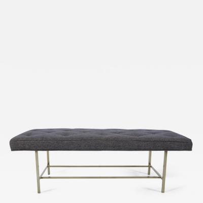 Harvey Probber Harvey Probber Brass Frame Bench
