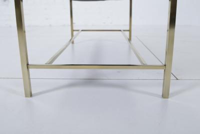 Harvey Probber Harvey Probber Brass Frame Bench