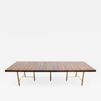 Harvey Probber Harvey Probber Brazilian Rosewood Dining Table 1950s