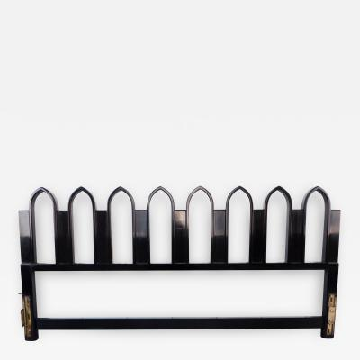Harvey Probber Harvey Probber King Size Headboard with Gothic Arches