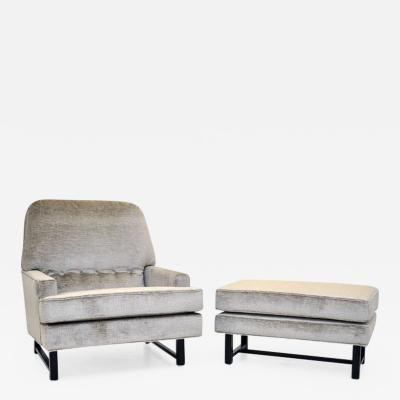 Harvey Probber Harvey Probber Lounge Chair with Ottoman