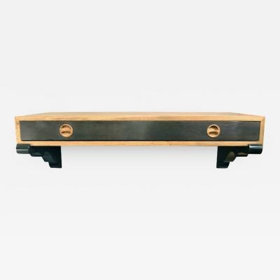 Harvey Probber Harvey Probber Rosewood Wall Mounted Console
