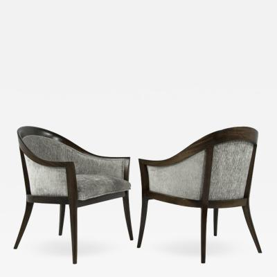 Harvey Probber Harvey Probber Saber Leg Lounge Chairs 1950s