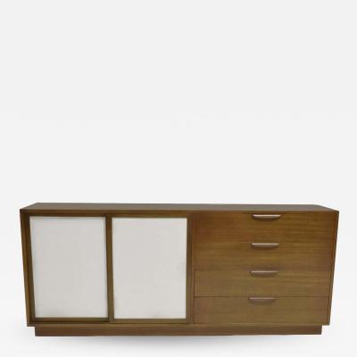 Harvey Probber Harvey Probber Sideboard with Leather Doors