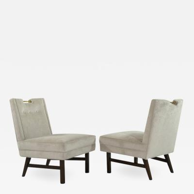 Harvey Probber Harvey Probber Slipper Chairs 1950s