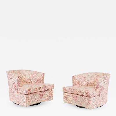 Harvey Probber Harvey Probber Swivel Chairs