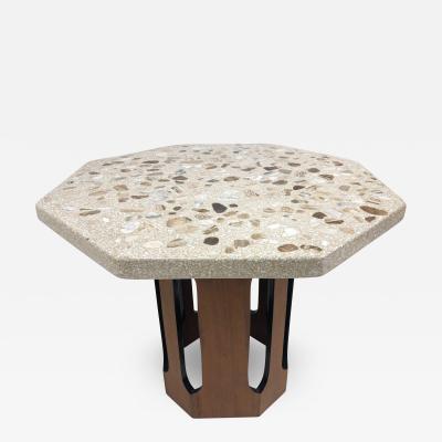 Harvey Probber Harvey Probber Terrazzo Top Side Table