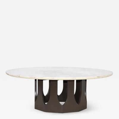 Harvey Probber Harvey Probber Travertine Top Coffee Table