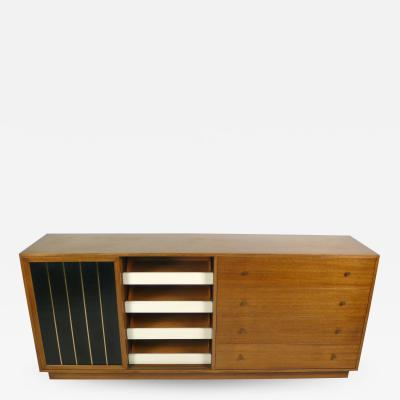 Harvey Probber Leather Faced Probber Cabinet