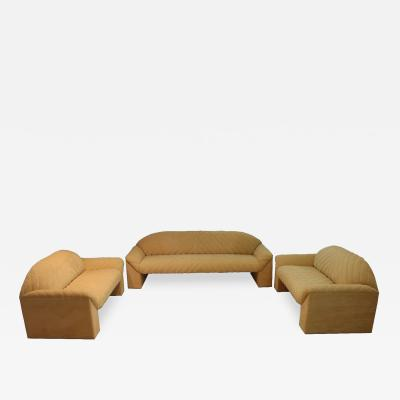 Harvey Probber Mid Century Modern Harvey Probber Set of 3 Sofa and 2 Loveseats
